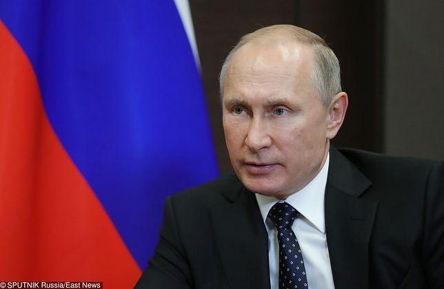 Władimir Putin ofiarą ataku hakerskiego