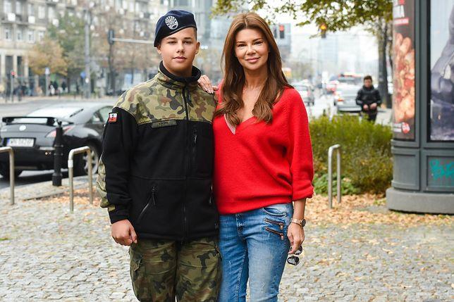Edyta Górniak jest dumna z 15-letniego syna Allana.