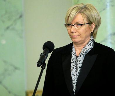 Julia Przyłębska oskarża opozycję i media o przyczynienie się do śmierci prof. Henryka Ciocha, sędziego TK.