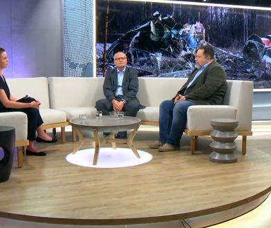 """Małgorzata Serafin (Telewizja WP), Paweł Lisicki (""""Do Rzeczy""""), Marcin Celiński (""""Liberte!"""")"""