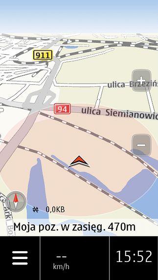 Teraz już wiem skąd się biorą historie o tym że ktoś wjechał do jeziora za GPSem ;)