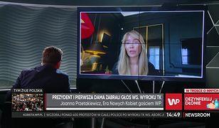 """Joanna Przetakiewicz komentuje słowa prezydenta. """"Jest duża niezgodność"""""""