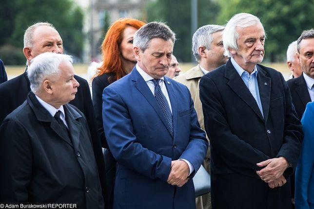 Jarosław Kaczyński, Marek Kuchciński i Ryszard Terlecki