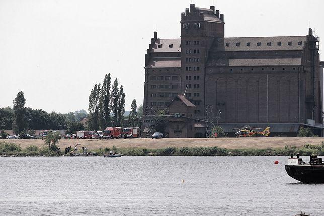 W Płocku trwa akcja ratunkowa