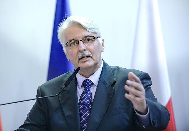"""Witold Waszczykowski komentuje słowa Macrona. """"Zadziwiające"""""""