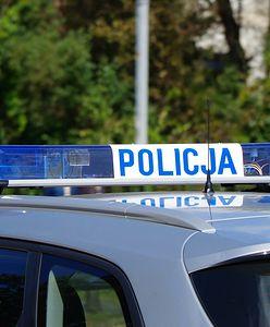 Rozbity radiowóz policji w Wyszanowie. Śledczy wyjaśniają okoliczności