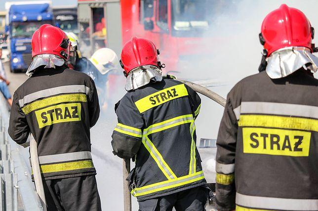 Zapłonęła jak zapałka. Pożar na autostradzie A4