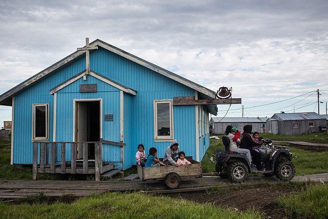 Codzienne życie w Newtok na Alasce