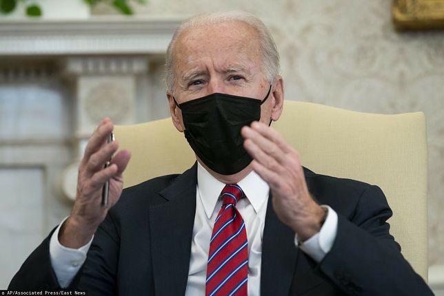Joe Biden wezwał Putina do uwolnienia Aleksieja Nawalnego