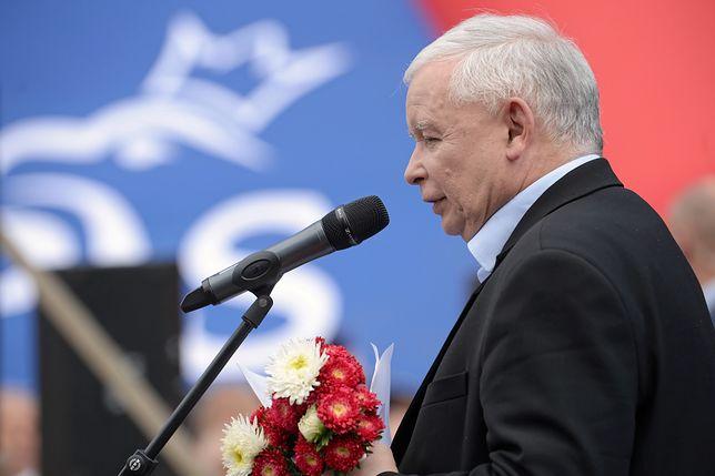 Ośrodek Monitorowań Zachowań Rasistowski i Ksenofobicznych złożył zawiadomienie na Jarosława Kaczyńskiego