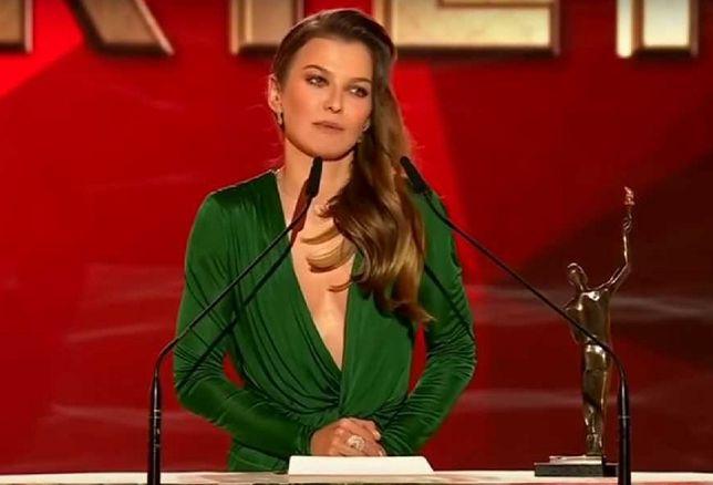 "Ania Lewandowska na gali ""Sportowiec Roku"""