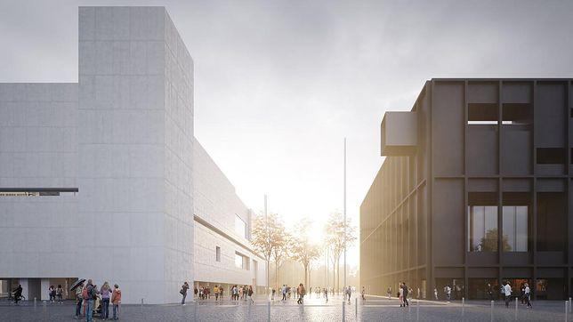 Warszawa. Projekt teatru i muzeum. To będzie nowe sąsiedztwo Pałacu Kultury i Nauki