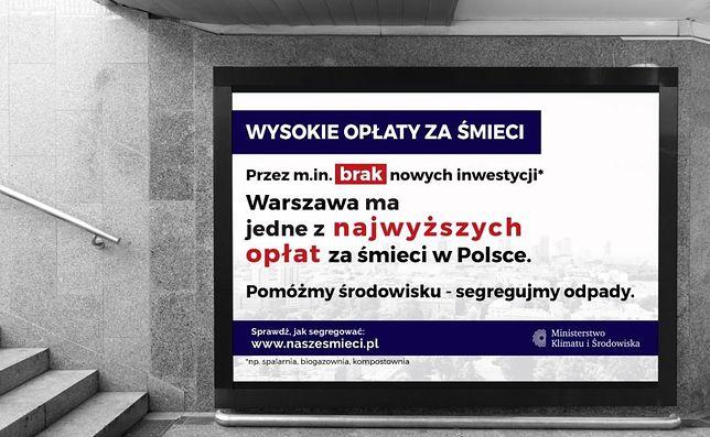 Warszawa. W środę rozpocznie się kampania reklamowa Ministerstwa Klimatu i Środowiska