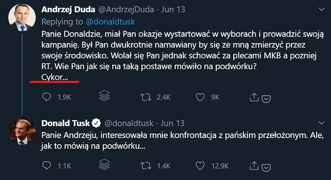 ta wypowiedź Andrzeja Dudy pozostała w pamięci internautów, fot. Jakub Krawczyński