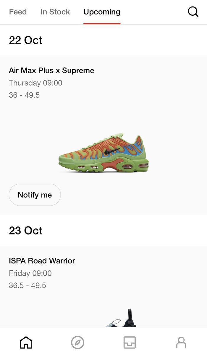 Nike Drop butów