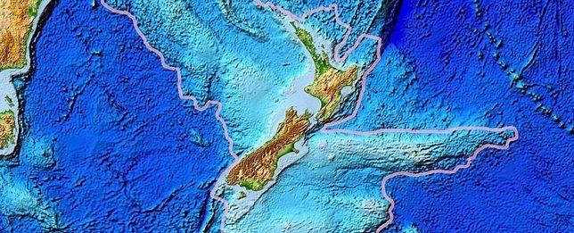 Zealandia - ósmy kontynent.