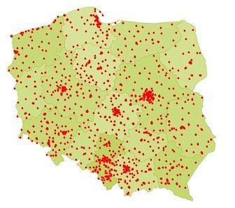 Mapa pokazuje statystyki dobowe z 28 czerwca 2020 r. (stan na godzinę 14.20)