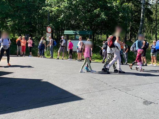 Turyści w Karpaczu