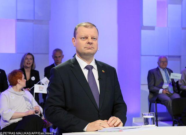 Premier Litwy Saulius Skvernelis
