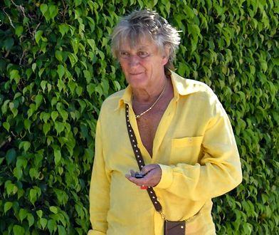 Rod Stewart spaceruje po ulicach Palm Beach