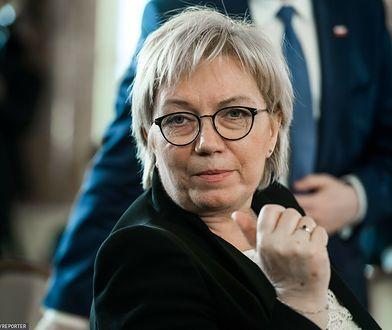 KE apeluje ws. wniosku do TK. Julia Przyłębska zabiera głos
