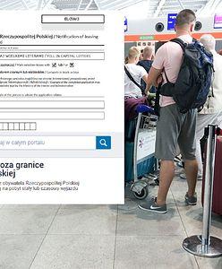 Obowiązek zgłoszenia wyjazdu za granicę. Ekspert: pozostaje nadzieja, że to statystyka, a nie kontrola