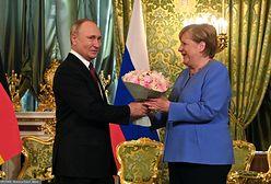 """Rozmowy Putin-Merkel. Prezydent Rosji: """"kanclerz Niemiec zawsze będzie mile widziana w Rosji"""""""
