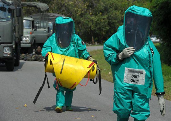 Wyciek nuklearny z radioaktywnych zbiorników w Hanford