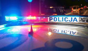 Do zdarzenia doszło w sobotę wieczorem na jednej z ulic Alwerni