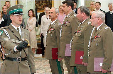 Prezydent nominował nowych generałów Straży Granicznej