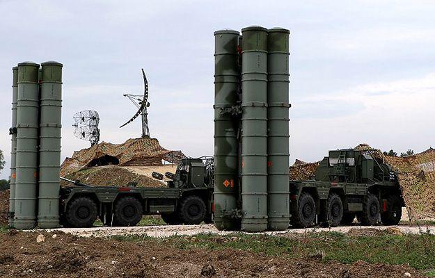 Rosyjskie system S-400 Triumf w Syrii