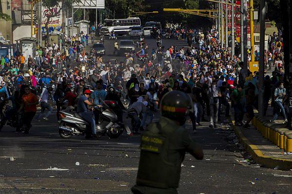 Podczas protestów w Wenezueli śmierć poniosło kilka osób