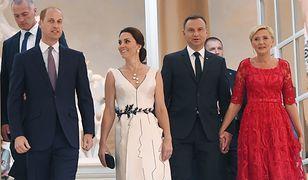 Para książęca i para prezydencka w Łazienkach Królewskich