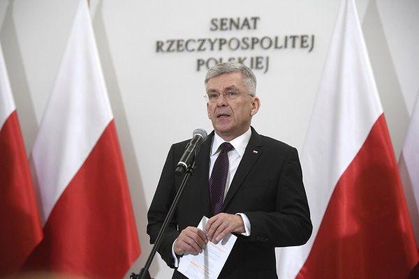 Kryzys w parlamencie. Stanisław Karczewski przyznaje: popełniliśmy błąd komunikacyjny. Cena jest zbyt duża