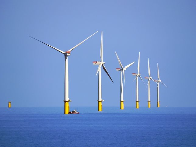 Elektrownia przy wyspie Walney