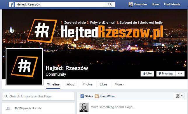 """""""Hejted"""" na Facebooku"""