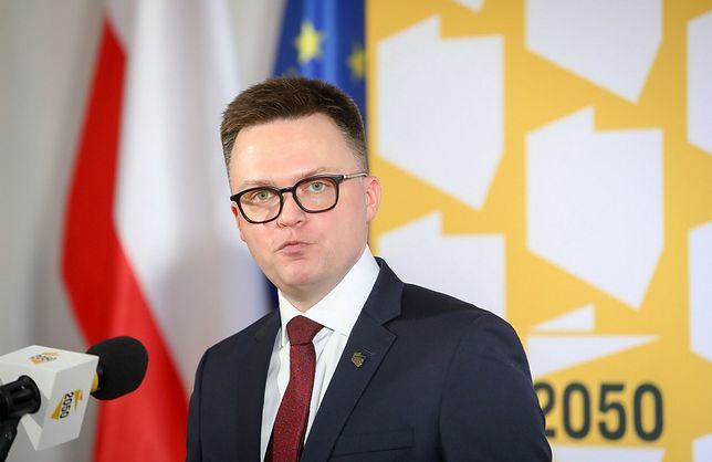 """Szymon Hołownia chwali Donalda Tuska. """"Zawsze warto słuchać go z uwagą"""""""