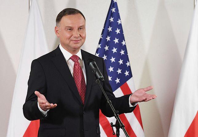 """Andrzej Duda podsumował wizytę w USA. """"Nasze więzi się zacieśniają"""""""