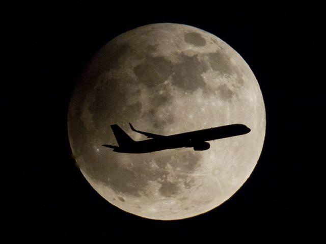 Zobacz, jak Ziemia zaćmiła Księżyc - niezwykłe zdjęcia