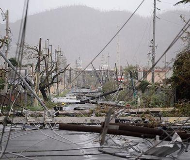 Portoryko po przejściu huraganu spowiła ciemność. Kataklizm wyrządził na wyspie ogromne zniszczenia