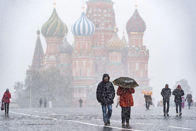 Pierwszy śnieg w Moskwie. Czy to początek zimy?