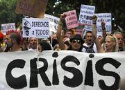 Hiszpania: W kryzysie protesty stały się codziennością