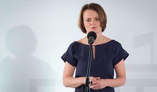 """Jadwiga Emilewicz: """"Mnie za krytykę Rady Mediów Narodowych z tychże mediów skutecznie wycięto"""""""