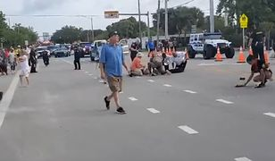 USA. Rozpędzona furgonetka wjechała w uczestników Parady Równości