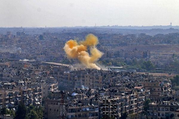 Syria: siedziba ONZ w Aleppo ostrzelana przez czołgi