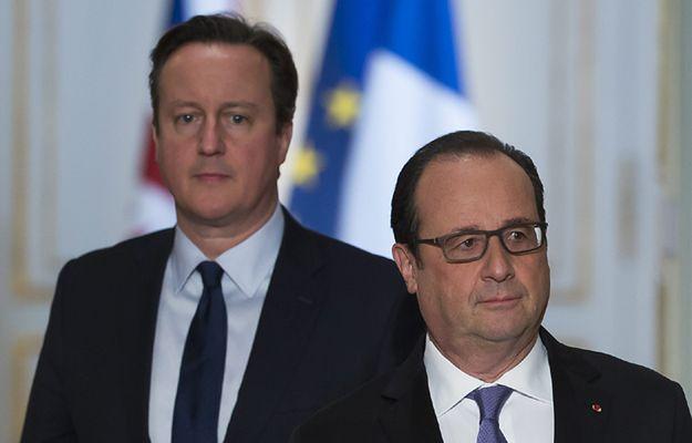 David Cameron i Francois Hollande wzmacniają współpracę ws. walki z ISIS