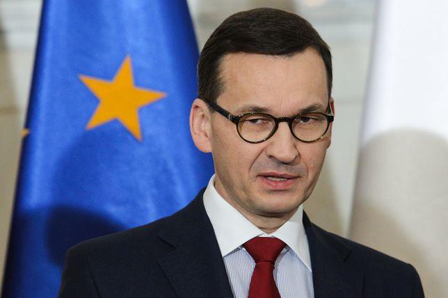 Mateusz Morawiecki przypomniał o negatywnym stosunku Polski do budowanego gazociągu Nord Stream 2