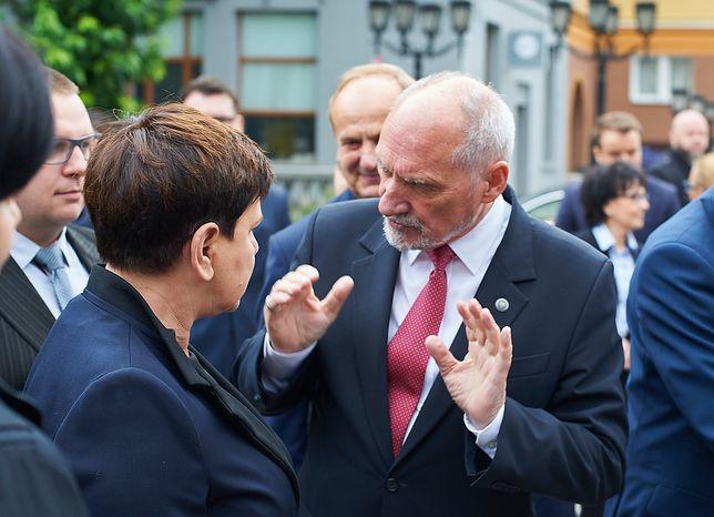 Beata Szydło i Antoni Macierewicz