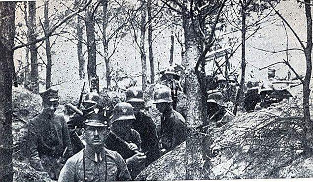 Powstańcy Wielkopolscy w styczniu 1919 r.