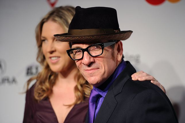 Elvis Costello z żoną Dianą Krall, Los Angeles, 2011 r.
